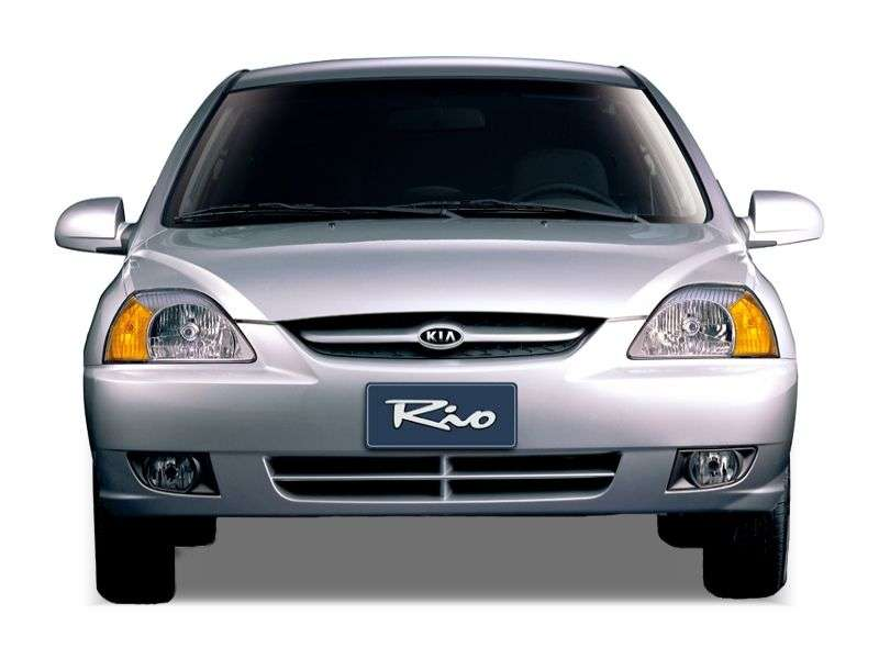 Kia Rio 1st generation [restyling] 1.6 AT saloon (2003–2005)