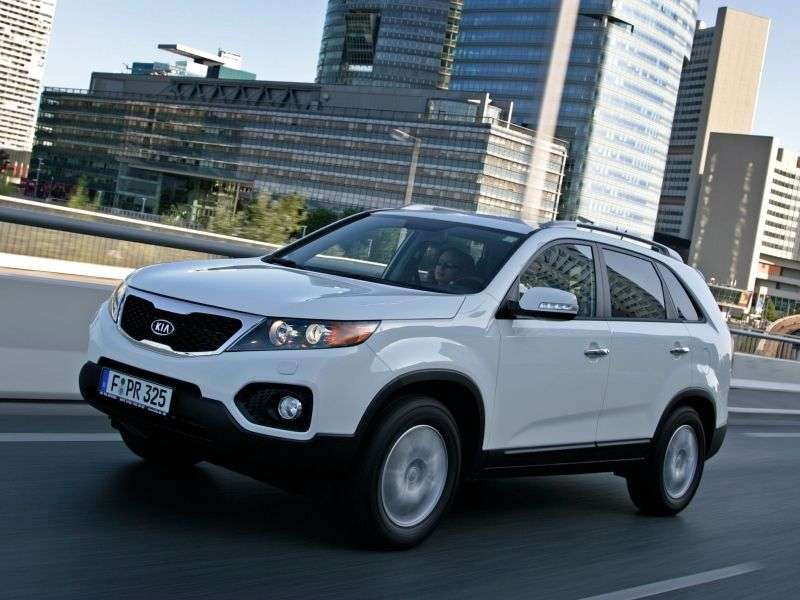 Kia Sorento 2nd generation crossover 2.4 AT 4WD Premium (2011) (2009–2012)