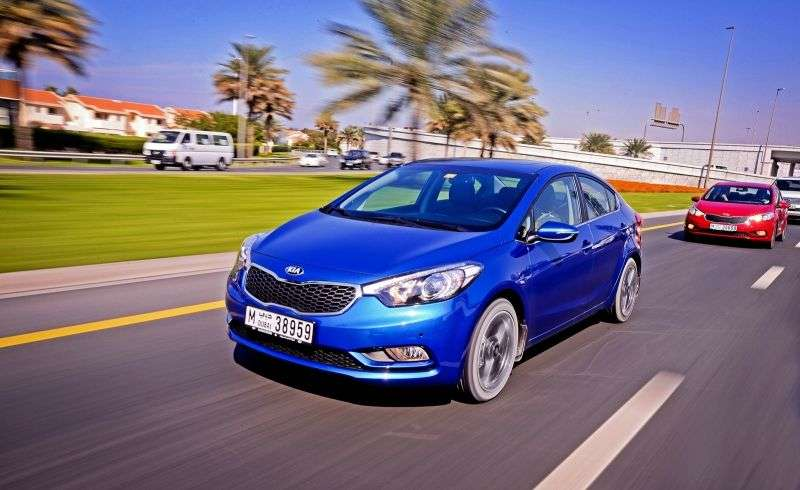 Kia Cerato 3rd generation sedan 1.6 AT Luxe (2013 – n.)