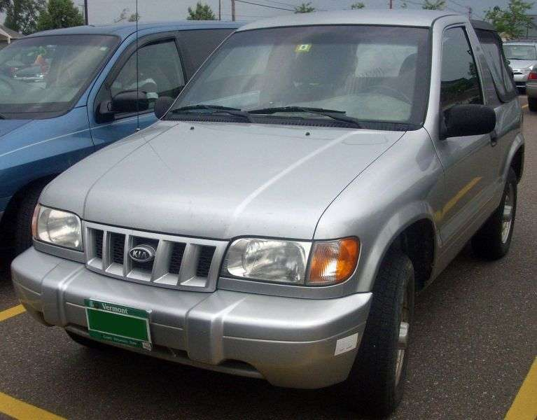Kia Sportage 1 generation Soft Top SUV 3 dv. 2.0 MT (1999–2002)