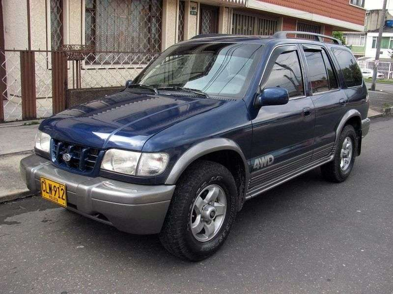 Kia Sportage 1st generation Grand SUV 5 dv. 2.0 AT (2000–2004)