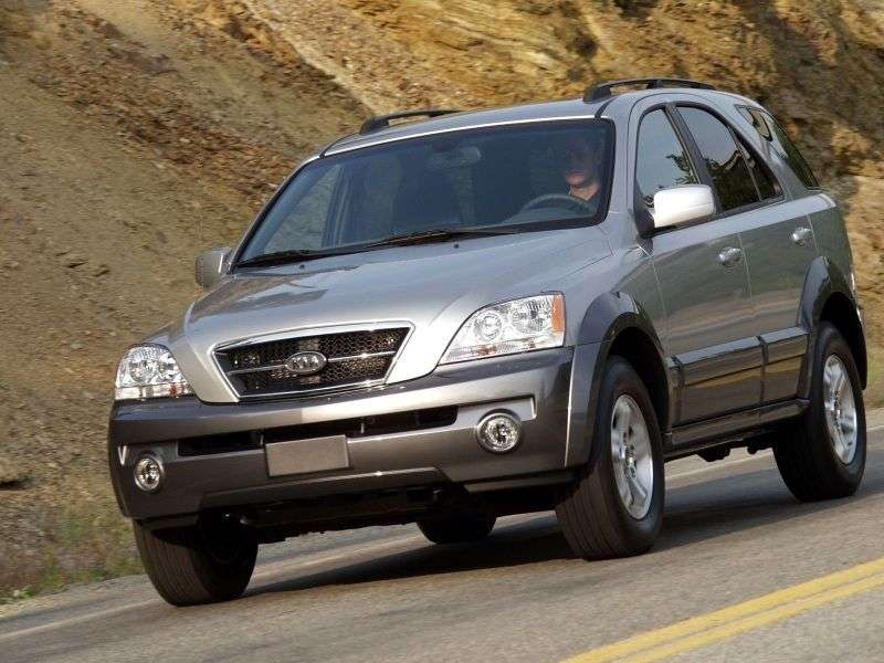 Kia Sorento 1st Generation Crossover 3.5 AWD 5AT (2004–2006)