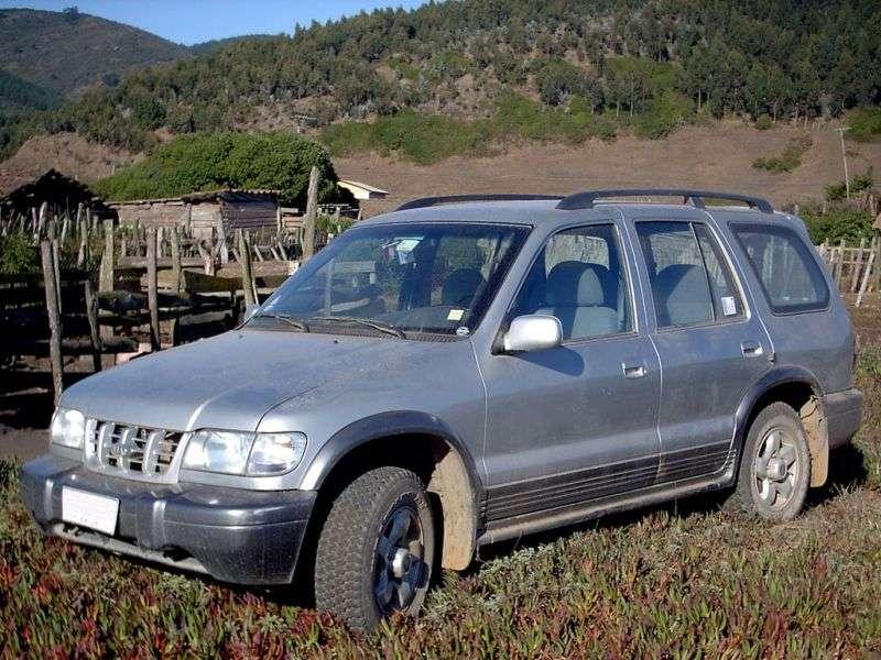 Kia Sportage 1st generation Grand SUV 5 dv. 2.0 TD AT (2000–2004)