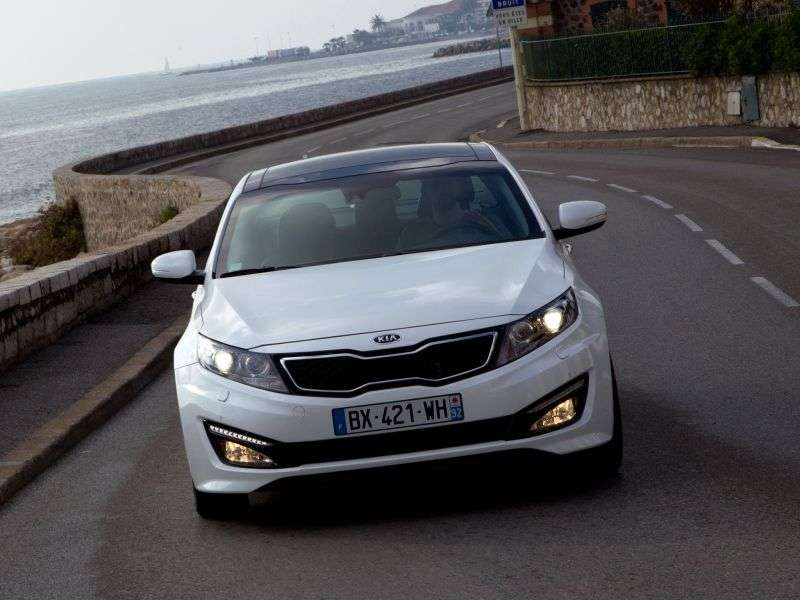 Kia Optima 3rd generation sedan 2.4 MPI AT Prestige (2013) (2011 – present)