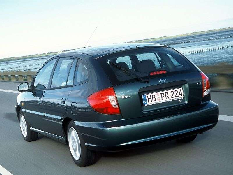 Kia Rio 1st generation [restyled] station wagon 1.5 AT (2002–2005)