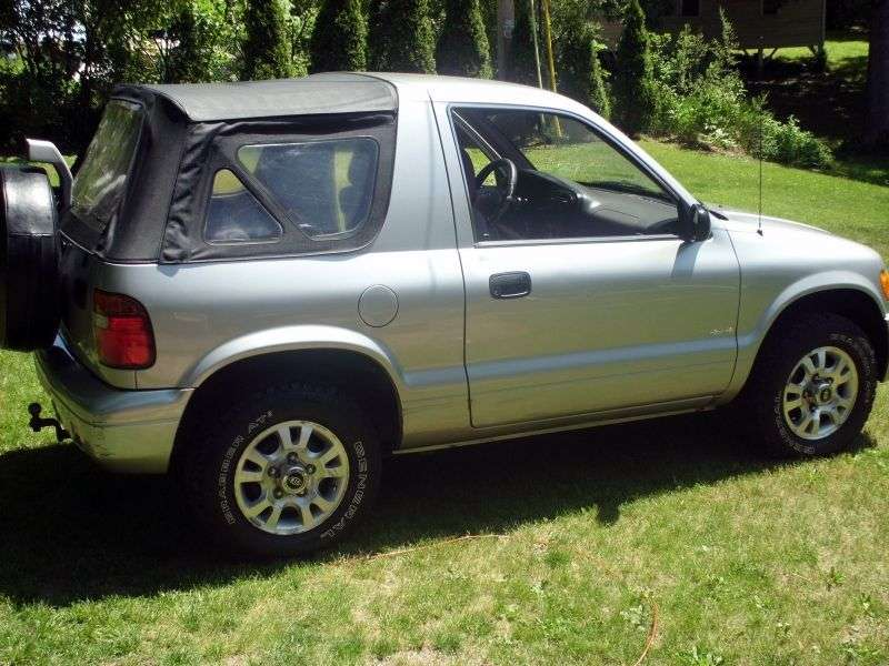 Kia Sportage 1 generation Soft Top SUV 3 dv. 2.0 MT (2002–2004)