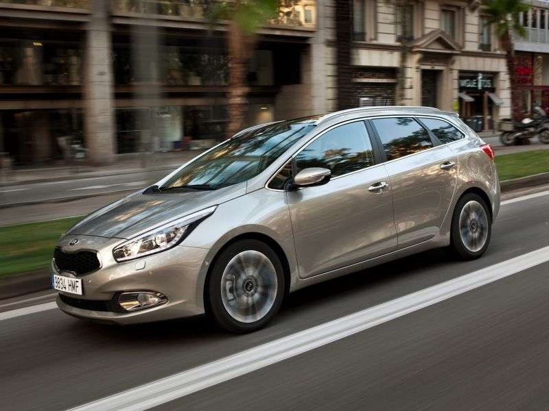 Kia Ceed 2nd generation SW wagon 1.6 AT Prestige (GCV4) (2012) (2012 – n.)
