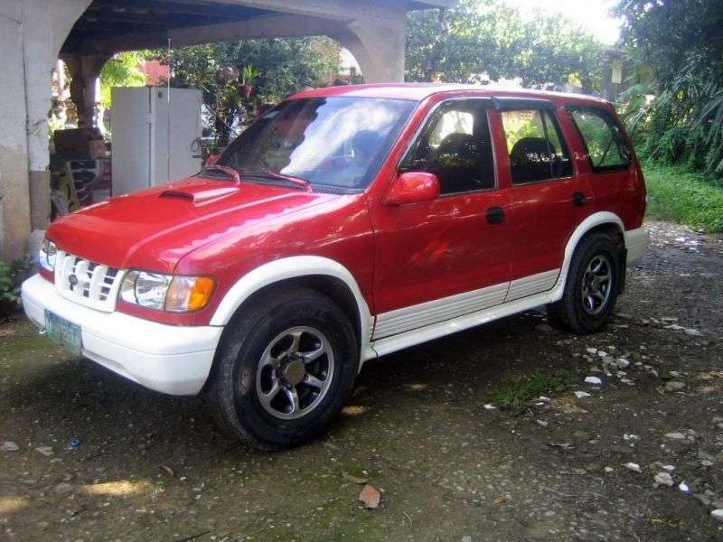 Kia Sportage 1st generation Grand SUV 5 dv. 2.0 TD MT (2000–2004)