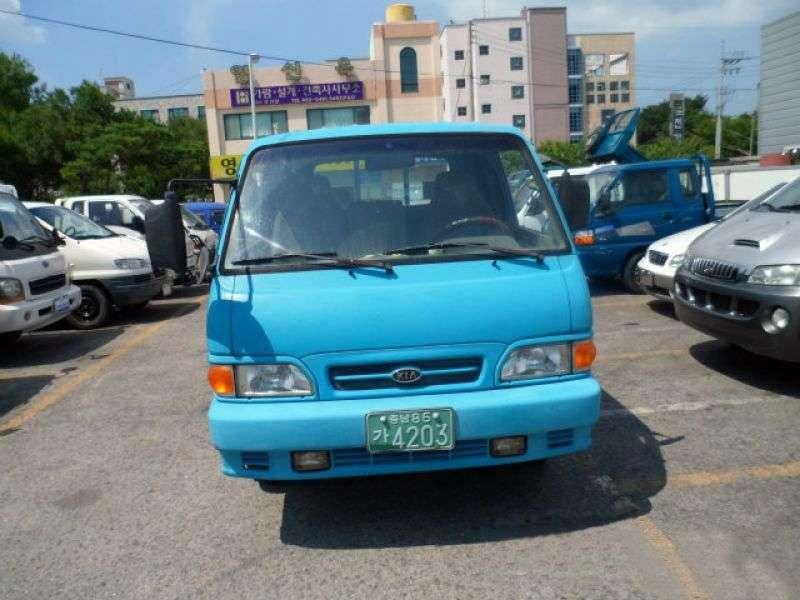 Kia Bongo 1st generation [restyling] Double Cab board 4 doors 2.4 D MT (1989–1997)