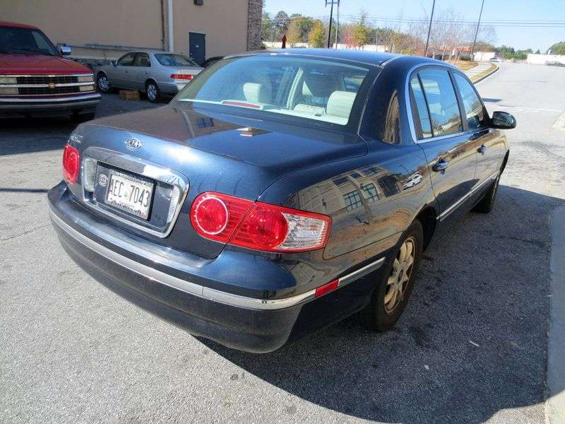 Kia Amanti 1st generation sedan 3.5 AT (2004–2006)