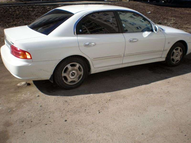 Kia Optima 1st generation 2.4 MT sedan (2000–2001)