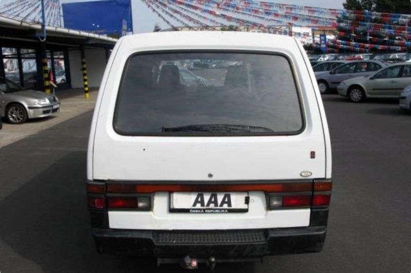 Kia Besta 1st generation [restyling] Triple van 2.2 D MT (1989–1996)