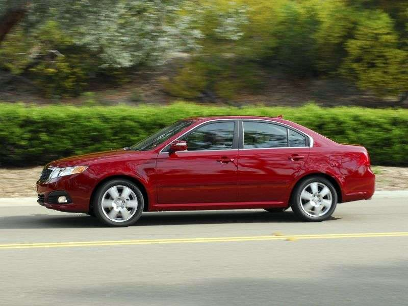 Kia Optima 2nd generation [restyling] 2.4 AT sedan (2009–2010)