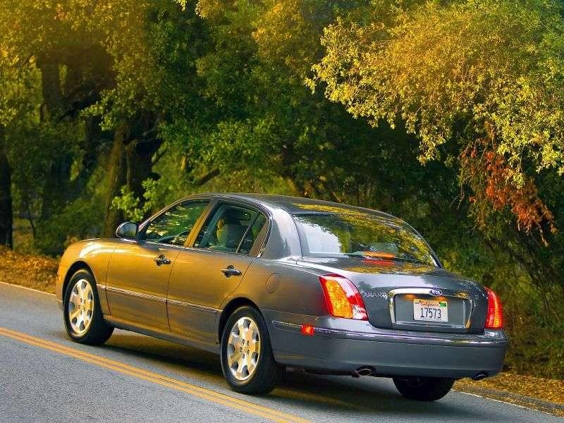 Kia Amanti 1st generation [restyled] sedan 3.8 AT (2007–2009)