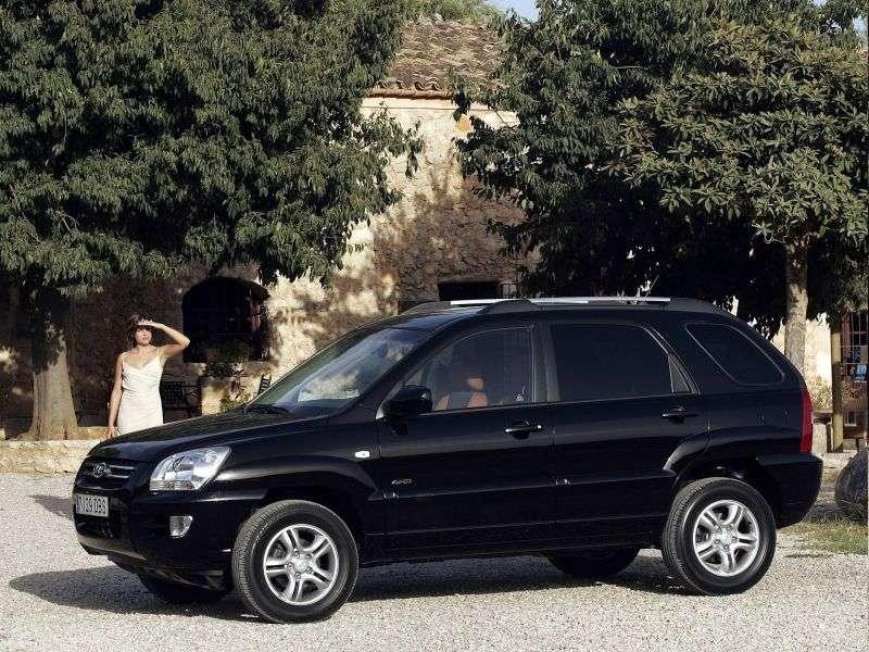 Kia Sportage 2 generation crossover 2.0 CRDi MT (2006–2008)