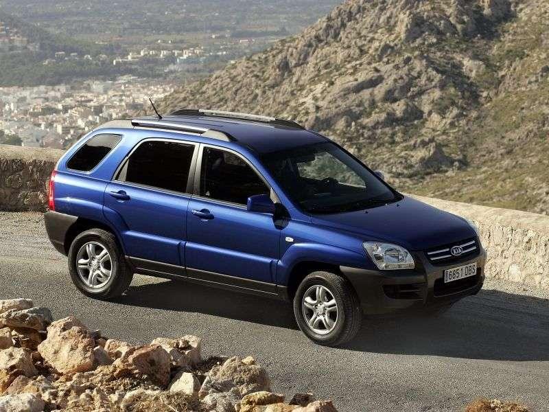 Kia Sportage 2 generation crossover 2.7 AT (2004–2008)