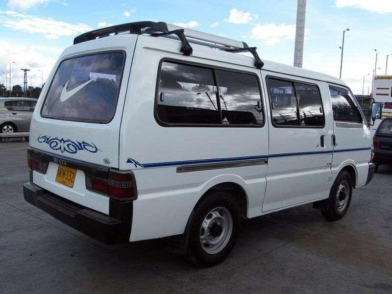 Kia Besta 1. generacja [2. zmiana stylizacji] Minibus 2.7 D MT (1996 1999)