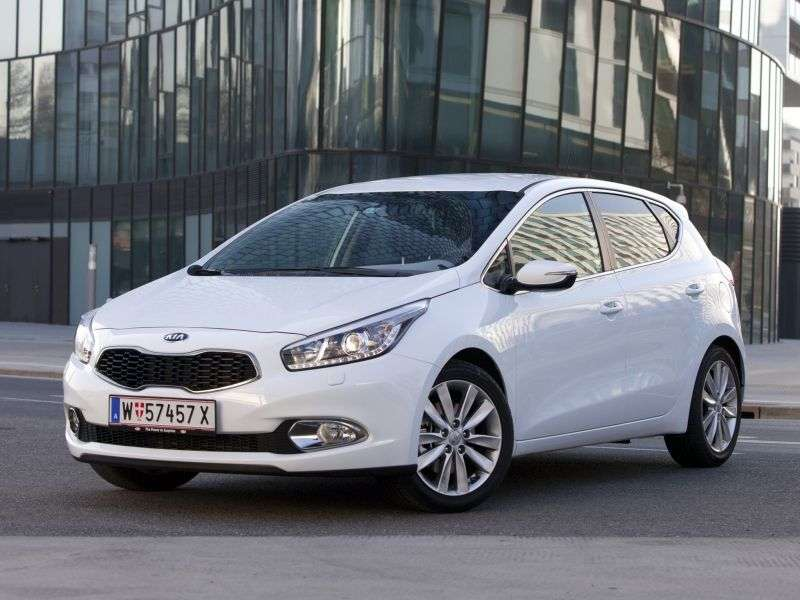 Kia Ceed 2nd generation hatchback 5 dv. 1.6 MT Classic RS (2013) (2012 – present)
