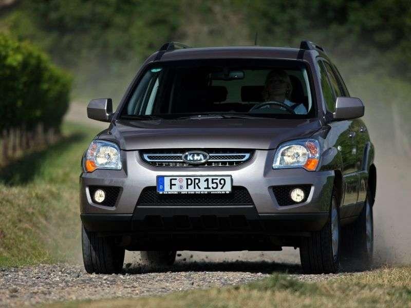 Kia Sportage 2 generation [restyling] crossover 2.0 CRDi MT (2008–2010)