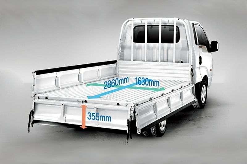 Kia Bongo III [zmiana stylizacji] deska Super Cab 2.5 TD AT (2012 obecnie)