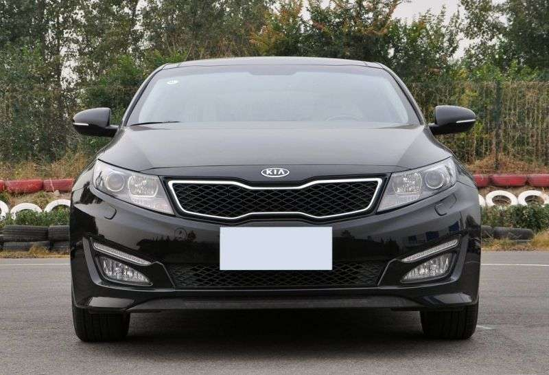 Kia K5 1st generation sedan 2.0 LPi MT (2010 – n.)