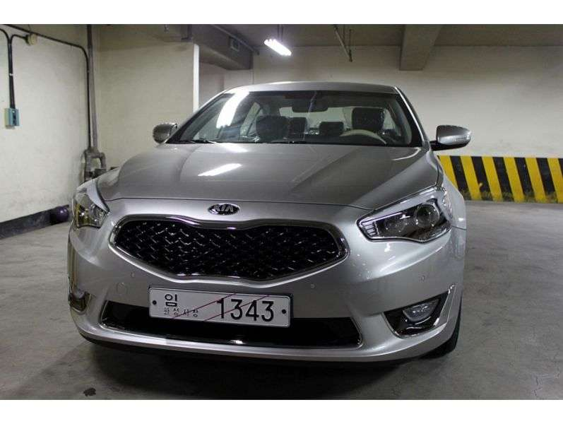 Kia K7 1st generation [restyled] 3.0 GDi AT sedan (2012 – n.)