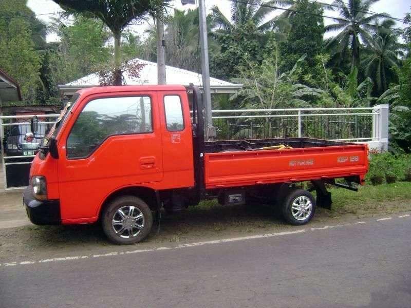 Kia Bongo Frontier [restyling] Super Cab board 2 doors 3.0 D MT (2001–2004)