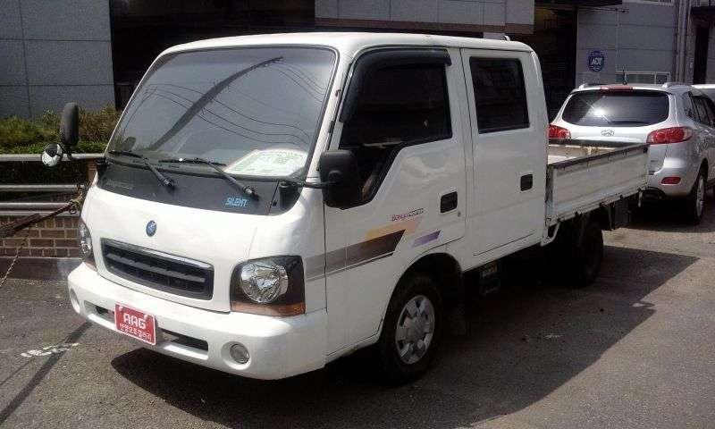 Kia Bongo Frontier [restyling] Double Cab board 4 doors 3.0 D MT (2000–2001)