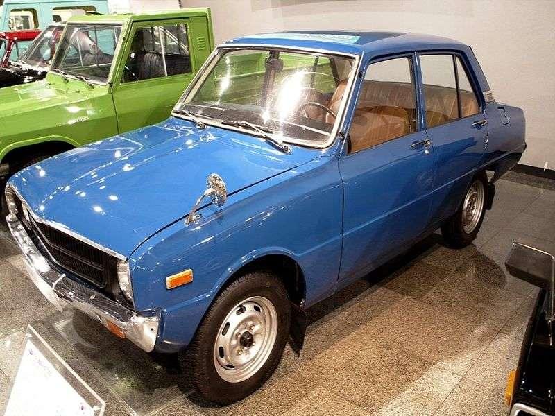 Kia Brisa 1st generation [restyled] 1.3 MT sedan (1977–1978)