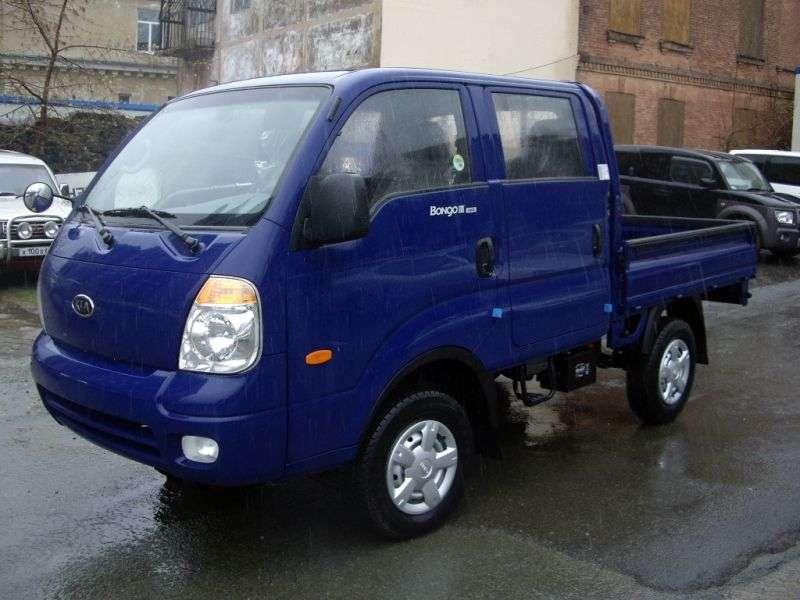 Kia Bongo IIIDouble Cab board 4 bit. 2.7 D MT (2004–2012)