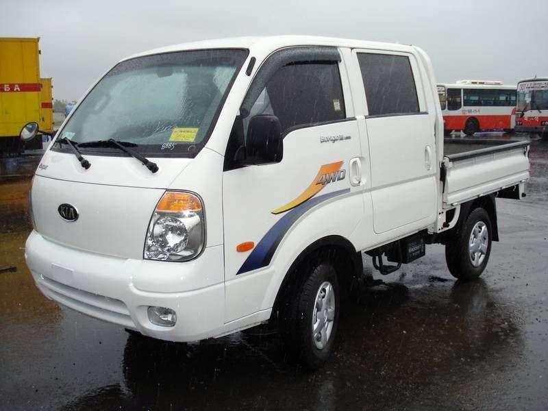 Kia Bongo IIIDouble Cab board 4 bit. 2.9 TD MT 4WD (2004–2012)