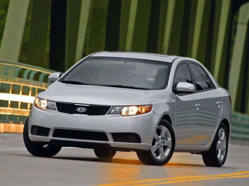 Kia Forte 1st generation sedan 2.4 6AT (2011 – n. In.)