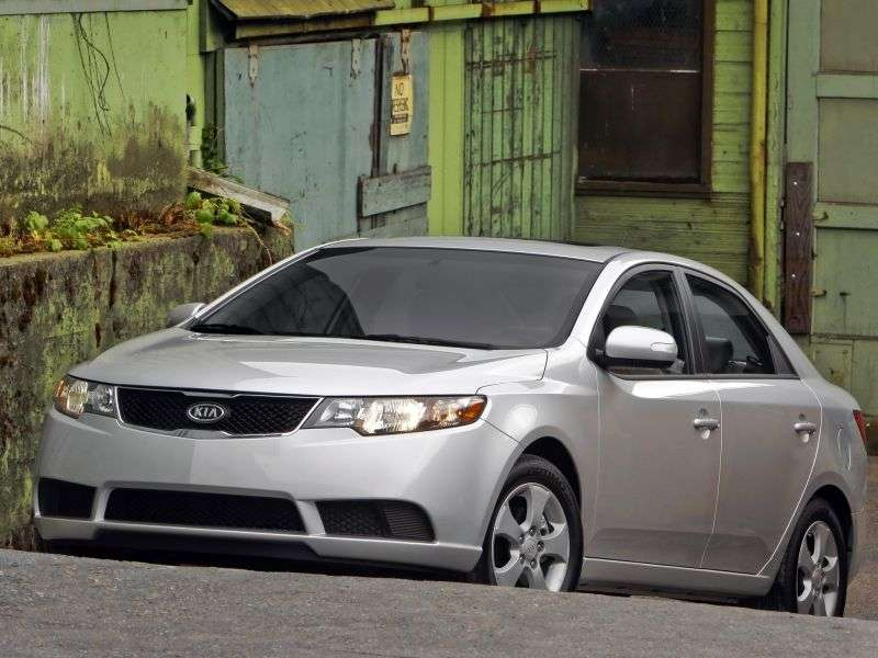 Kia Forte 1st generation sedan 2.0 4AT (2010–2010)