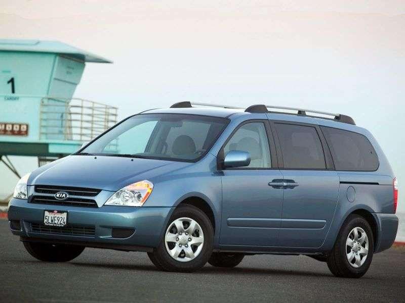 Kia Carnival 2nd generation Grand Minivan 3.8 AT (2006–2010)