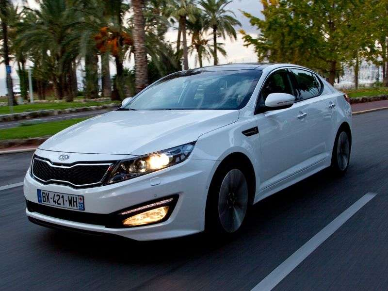 Kia Optima 3rd generation sedan 2.0 MPI AT Luxe (2011) (2011 – n.)