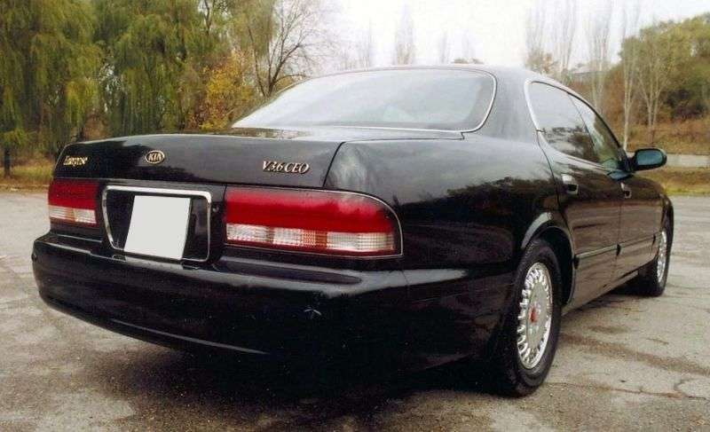 Kia Enterprise 1st generation sedan 3.6 AT (1997–2001)