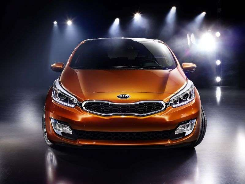 Kia Ceed 2nd generation Pro ceed hatchback 3 dv. 1.6 AT Prestige (2012 – present)