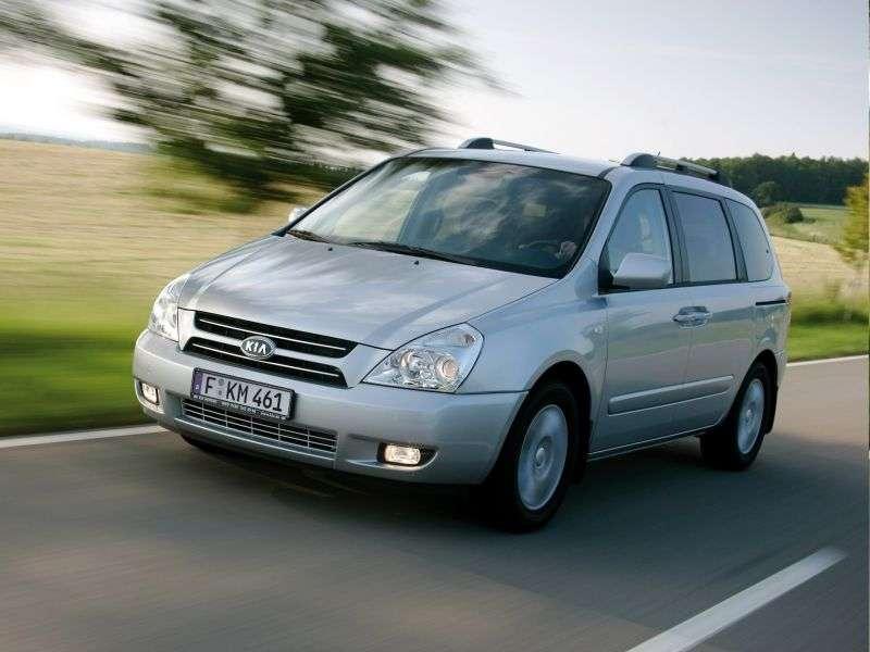 Kia Carnival 2nd generation minivan 2.7 MT (2006–2010)