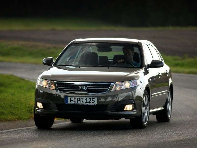 Kia Magentis 2nd generation [restyling] 2.0 AT saloon (2008–2009)