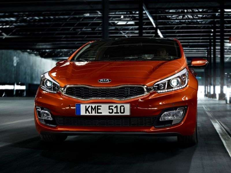 Kia Ceed 2nd generation Pro ceed hatchback 3 dv. 1.6 AT Comfort (2012 – n. In.)