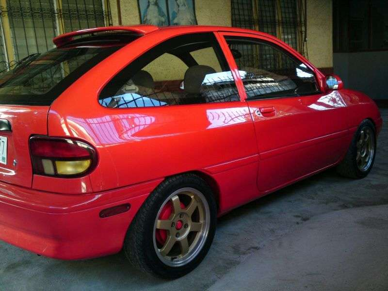 Kia Avella 1st generation hatchback 3 dv. 1.3 AT (1994–1997)