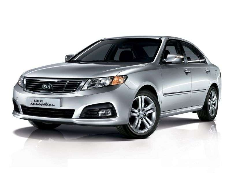 Kia Lotze Innovation [2nd restyling] sedan 2.0 AT (2008–2009)
