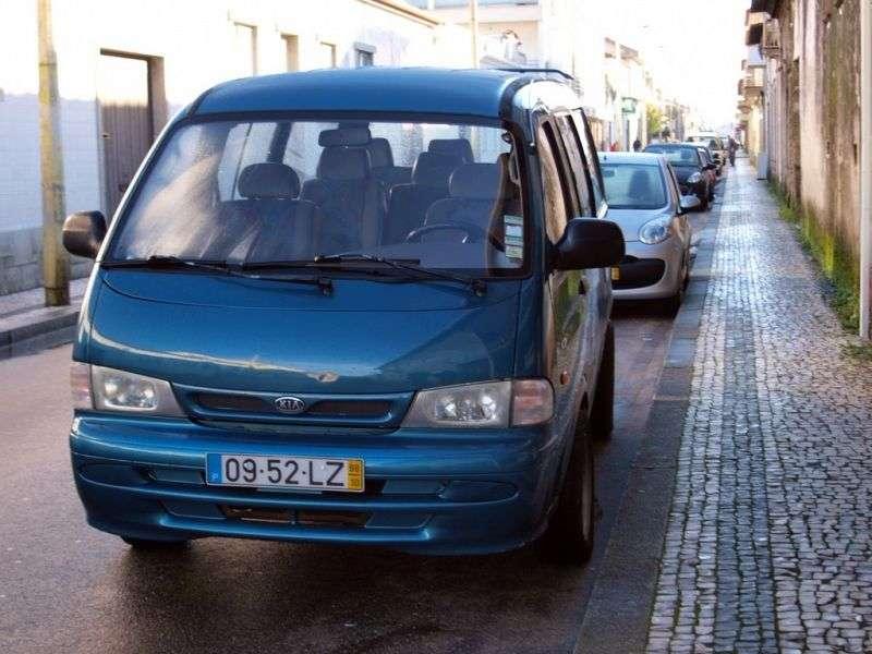 Kia Pregio 1st generation minibus 4 doors 3.0 D MT (1997–2003)