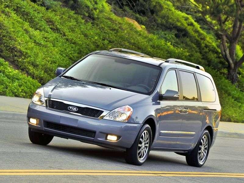 Kia Sedona 2nd generation [restyled] LWB minivan 3.5 AT (2011 – n.)