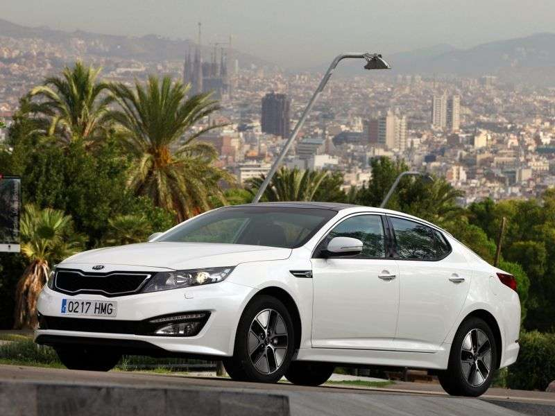 Kia Optima 3rd generation sedan 2.4 MPI AT Premium (2012) (2011 – current century)
