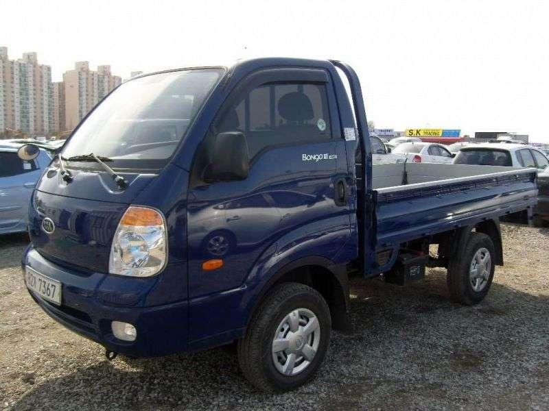 Kia Bongo IIIStandard cab board 2 doors 2.9 TD MT (2004–2012)