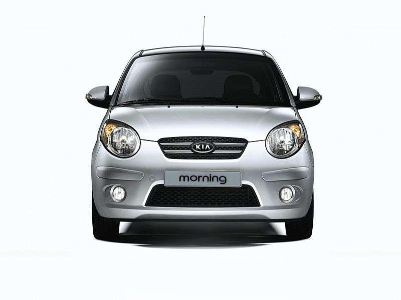 Kia Morning 1st generation [restyled] hatchback 1.0 AT (2007–2008)