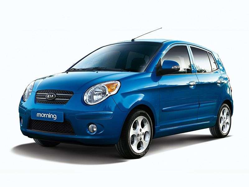 Kia Morning 1.generacja [zmiana stylizacji] hatchback 1.0 AT (2007 2008)
