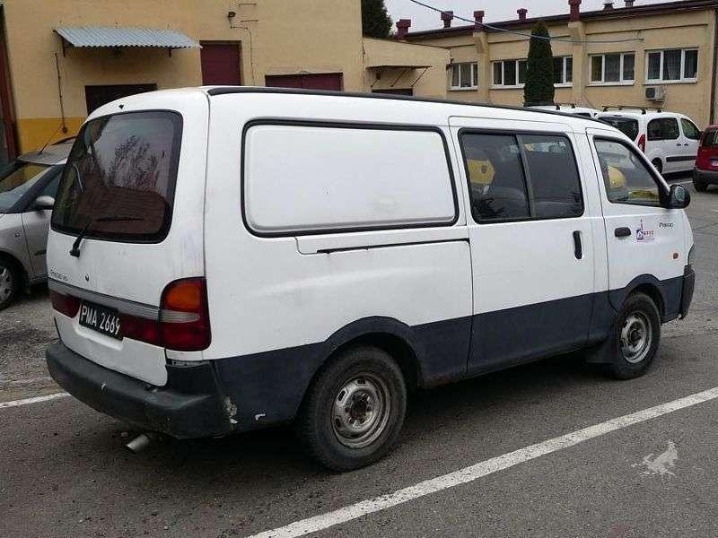 Kia Pregio 1st generation Combi van 4 bit. 2.5 TD MT (2001–2003)