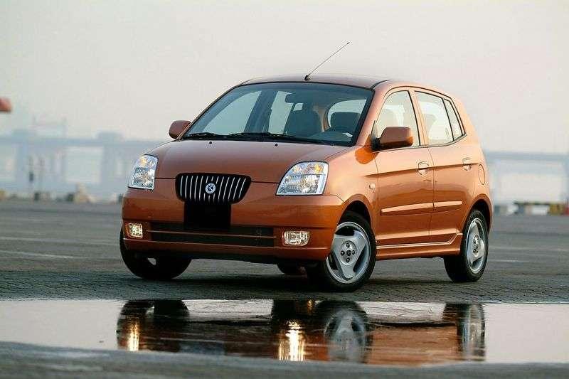 Kia Morning hatchback pierwszej generacji 1.0 AT (2004 2007)